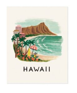Affiche Rifle Paper Co Hawai