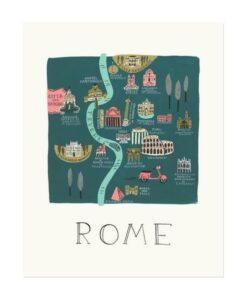 Affiche Rome Rifle paper APM014