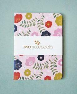 carnet mini labo en duo oiseau et fleurs