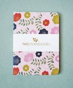 Lot de 2 carnets Minilabo – oiseaux et fleurs