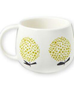 mug fleurs jaunes Mr et Mrs Clynk