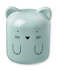 tirelire chat bleue bandjo