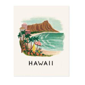 Affiche Hawai Rifle Paper APM028