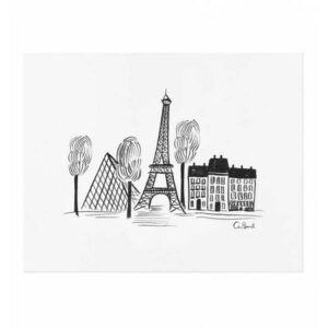 affiche Paris Rifle paper APM057