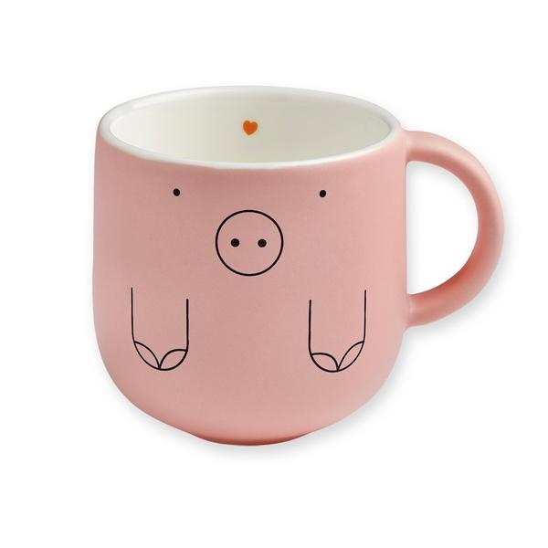 Mug cochon rose bandjo
