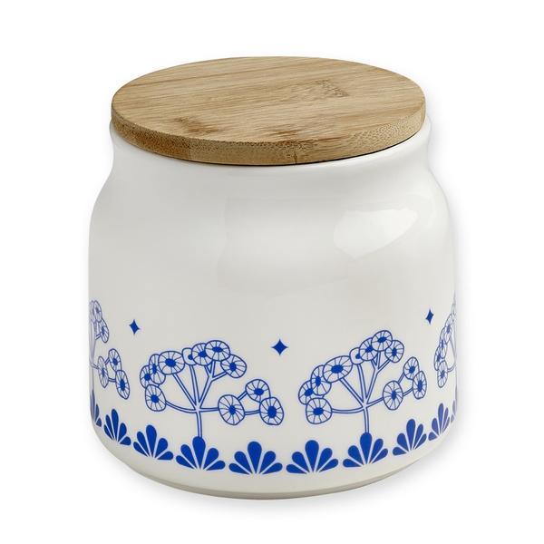 pot mr et mrs clynk fleurs bleues pastel shop. Black Bedroom Furniture Sets. Home Design Ideas