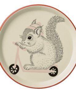 Assiette Bloomingville Mini Mollie Ecureuil