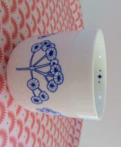 Tasse à café Mr et Mrs Clynk plante