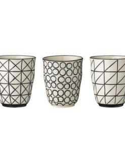 Mugs Bloomingville Julie x3