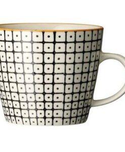 Mug Bloomingville carla noir