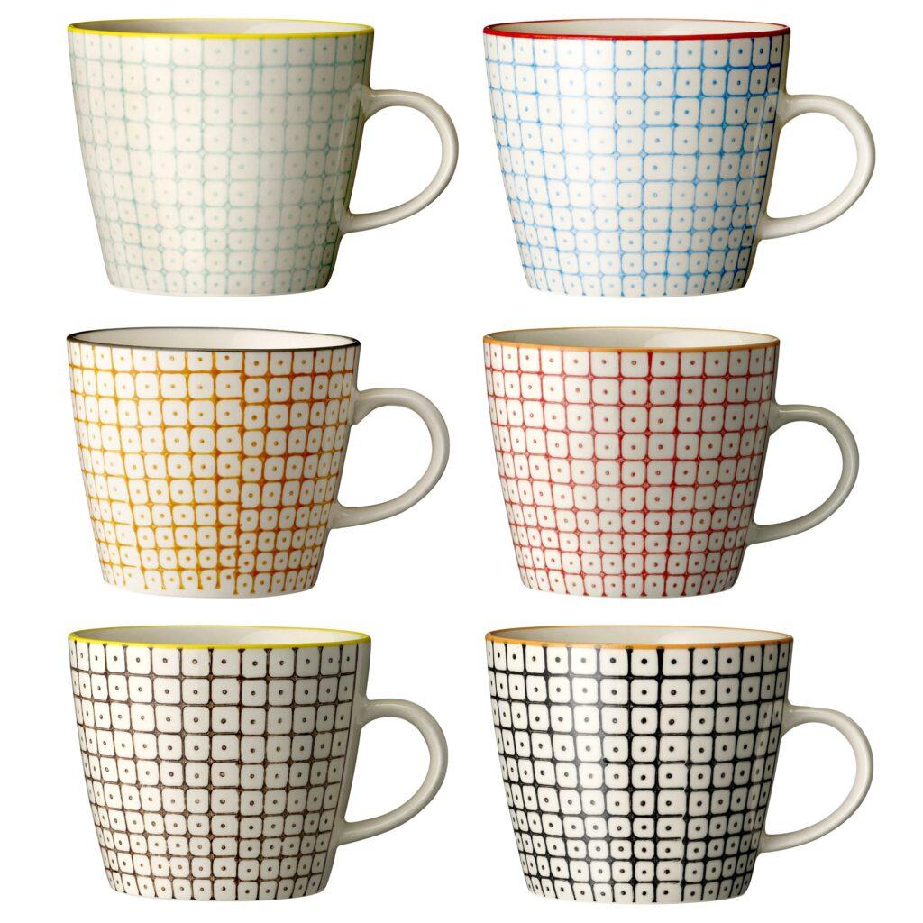 mug pattern Carla Bloomingville