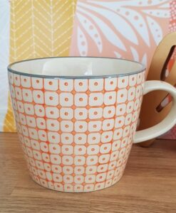 Tasse Bloomingville Carla orange