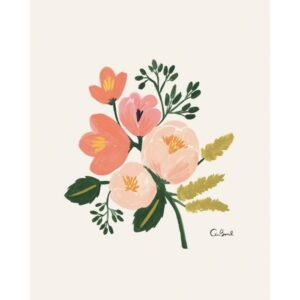 Affiche rose botanical Rifle Paper co APM055