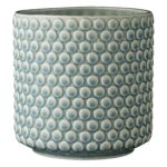 Cache pot bulles turquoise Bloominville 75100047