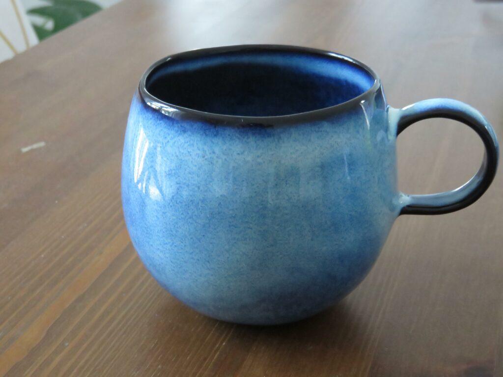 mug bleu bloomingville