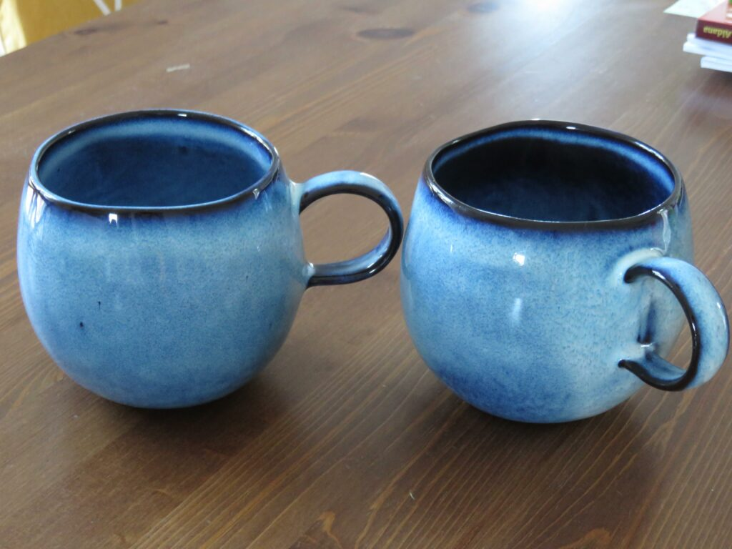 Mugs bloomingville bleu