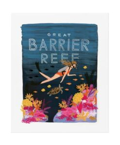 Affiche Barrier reef Rifle Paper