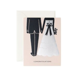Carte double Congratulations mariage Rifle Paper GCW011