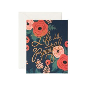Carte double Rifle Paper-PGCM02-lifeisbeautiful-rgb