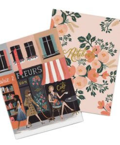 Set de 2 carnets Rifle Paper Co Parisienne
