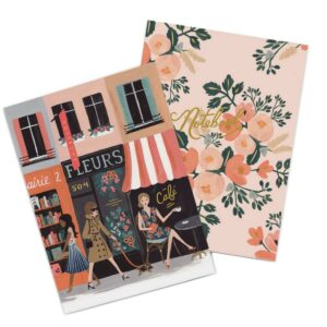 Lot de 2 carnets Parisienne -Rifle Paper-PJMM01