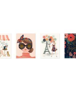Set de 8 cartes doubles Paris Rifle Paper Co