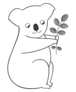 Carte Koala Audrey Jeanne