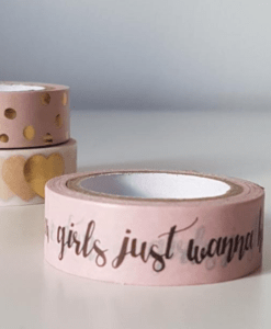 Masking Tape rose Girls