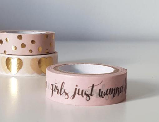 Masking Tape rose Girls