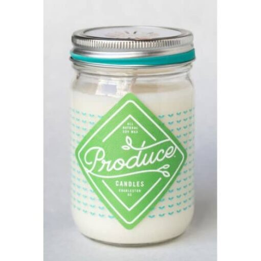 Bougie menthe Produce Candles