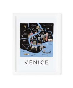Affiche Rifle Paper Co Venise