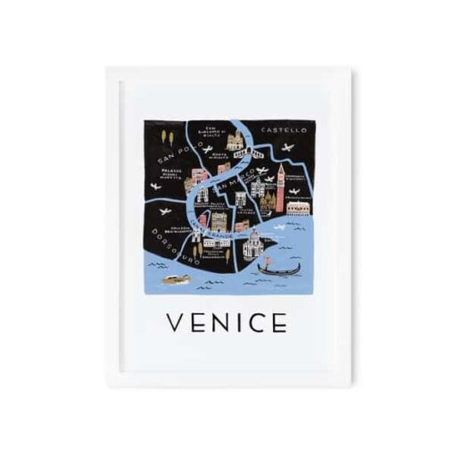 Affiche Rifle Paper Co Venise