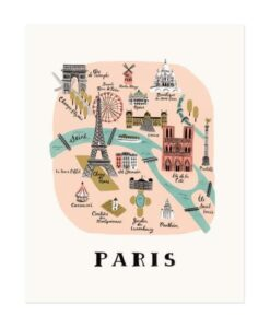 Affiche Paris Rifle Paper Co