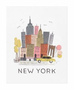 Affiche Rifle Paper Co New York