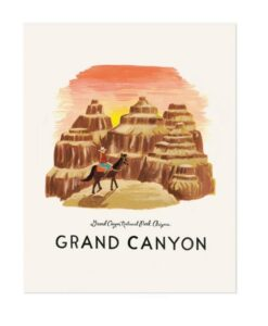 Affiche Rifle Paper Co Grand Canyon