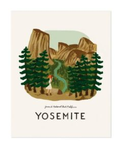 Affiche Rifle Paper Co Yosemite