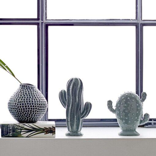 Cactus Bloomingville vert x2