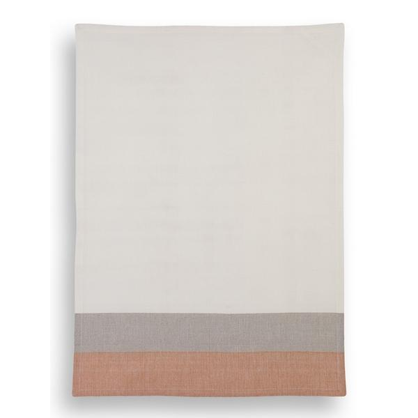 torchon mr et mrs clynk orange gris pastel shop. Black Bedroom Furniture Sets. Home Design Ideas