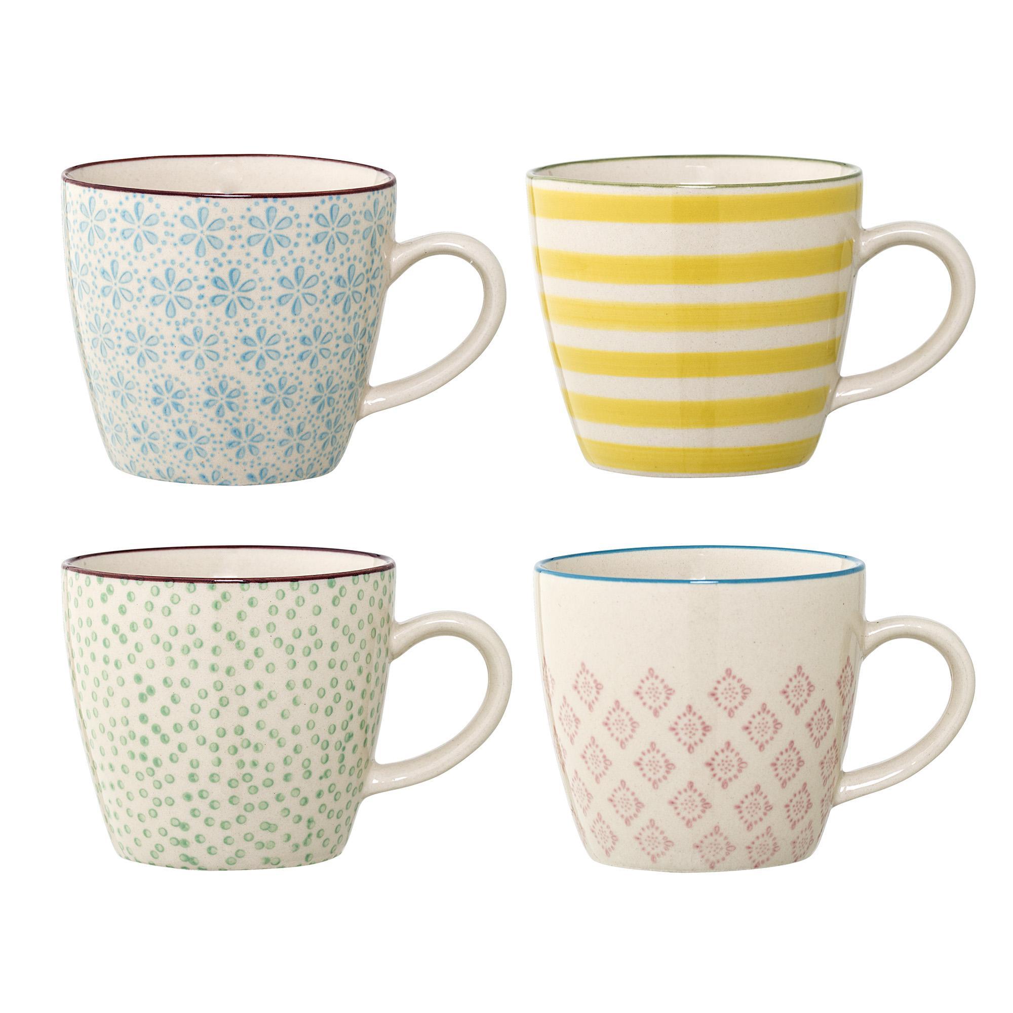tasses bloomingville patrizia x4 pastel shop. Black Bedroom Furniture Sets. Home Design Ideas