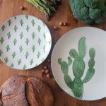 assiette jade bloomingville