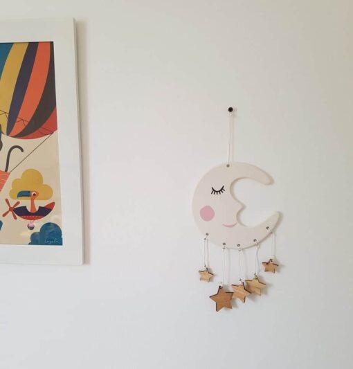 Mobile décoratif Bloomingville Mini Lune