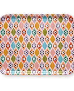 Plateau Mini LABO motifs +bois MIT223