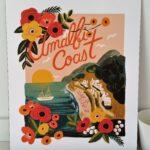 affiche amalfi coast rifle paper co