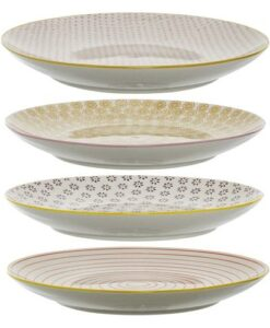 Assiettes Bloomingville Susie (25cm) x4