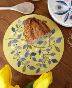 Dessous de plat Mini Labo jaune