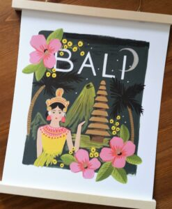 Affiche Rifle Paper Co Bali
