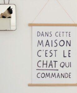 Affiche Cat Manifesto Audrey Jeanne