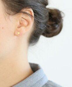 Boucles d'oreilles Tête de chat Audrey Jeanne