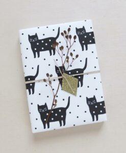 Papier cadeau Audrey Jeanne Dotty Kitty