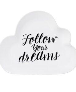 plat nuage bloomingville follow your dreams